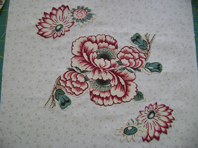 broderie perse; Sarah Morrell quilt