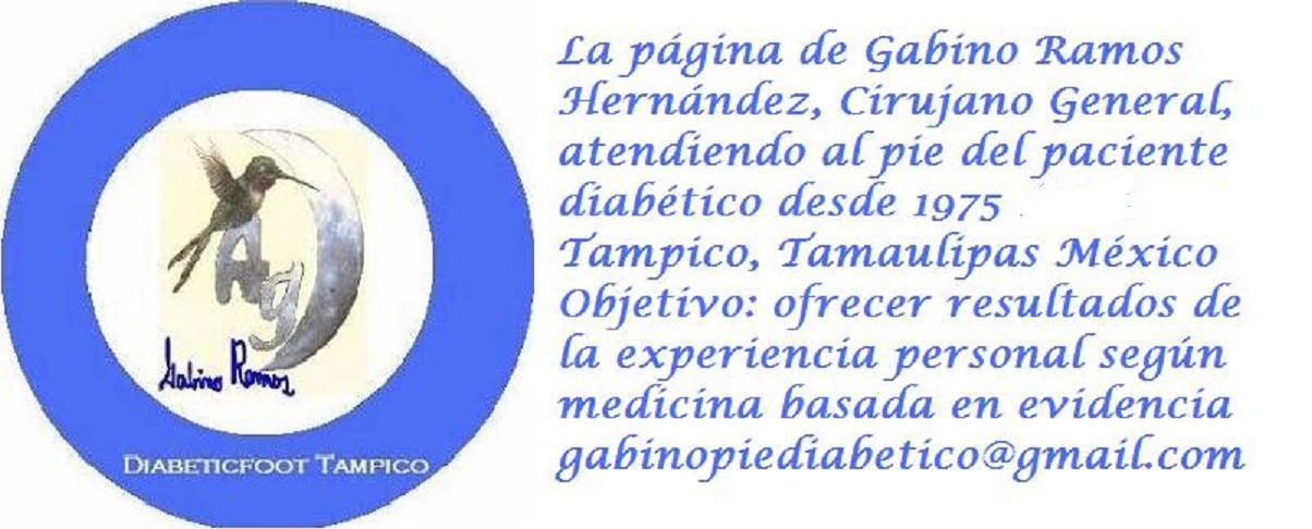 Diabeticfoot Tampico, La página de Gabino Ramos H.