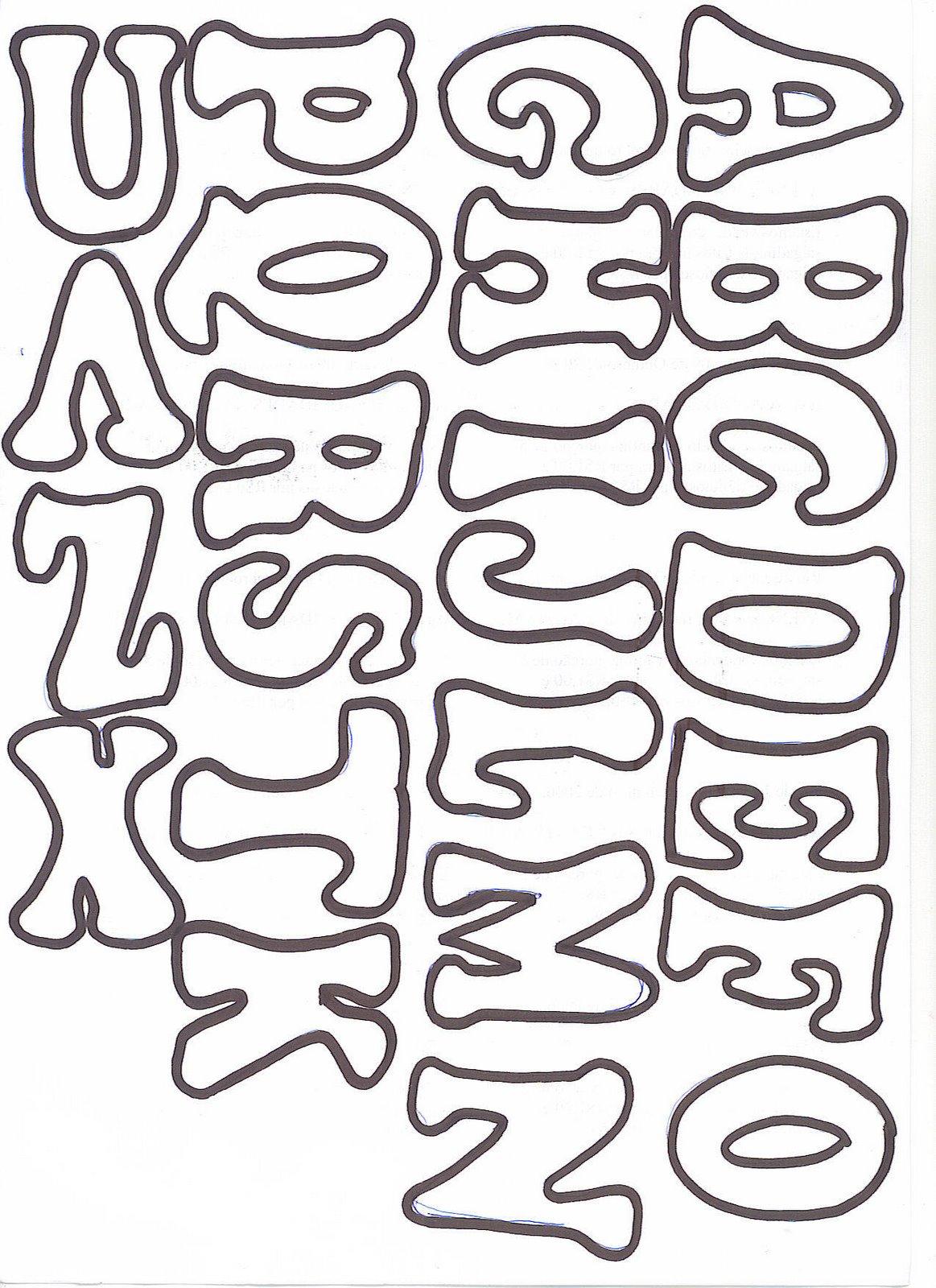 Tipos de letras para murales - Imagui