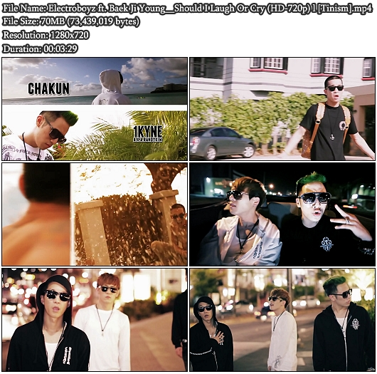 MV ElectroBoyz ft. 백지영 - 웃을까 울을까 (HD 720p)
