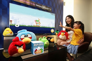 Play angry birds on TV