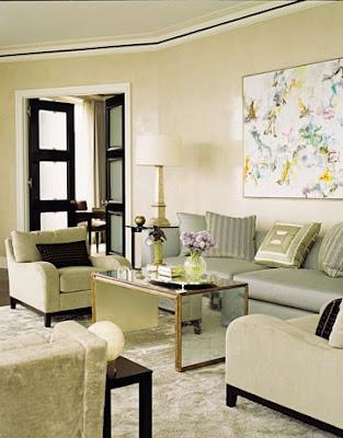 sala estilo art deco 8 Salas estilo Art Deco