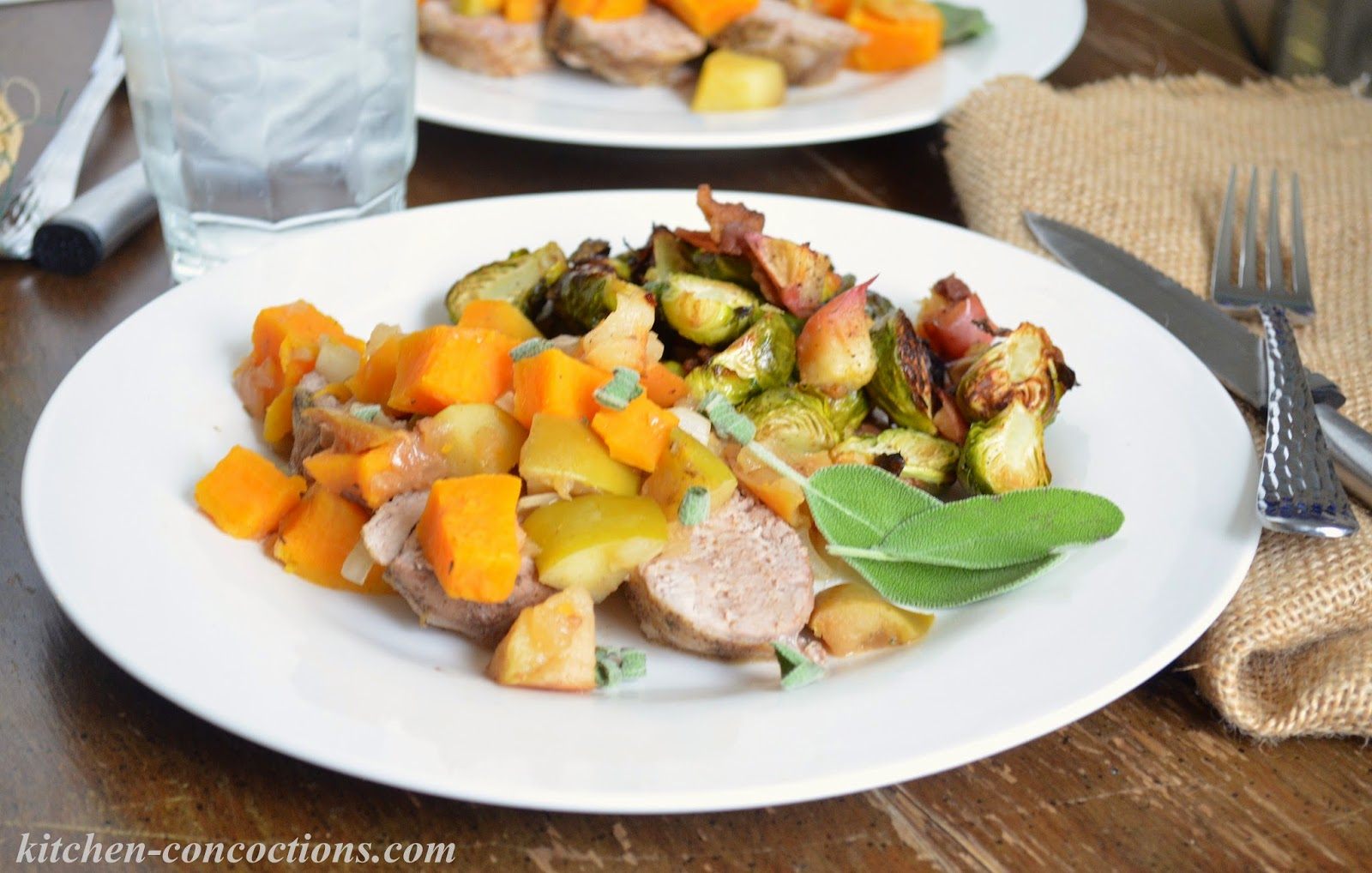 Make This Slow Cooker Pork Loin With Apples And Sweet Potatoes And Bring Dinner Back To The Kitchen Table On A Busy School Night