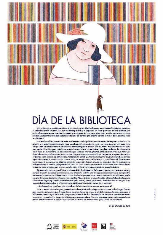 24 de outubro. Día da biblioteca