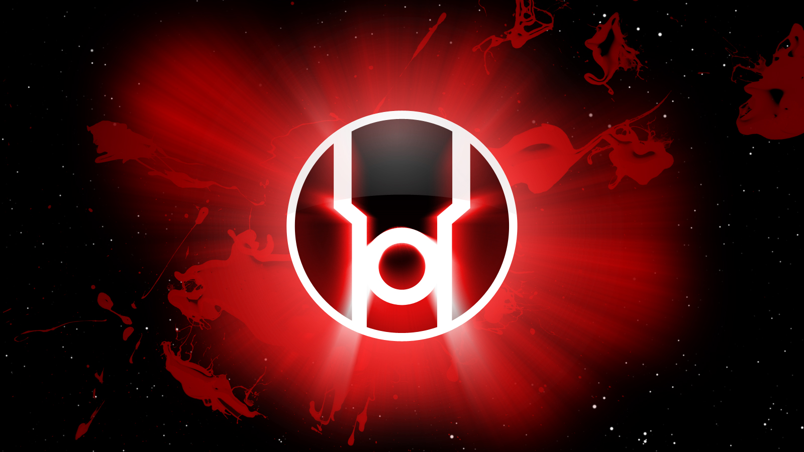 Red lantern corps symbol wallpaper - photo#2