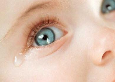 صور الدموع لطفل يبكي