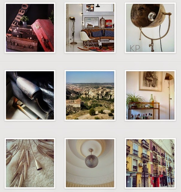 Instagram de tienda vintage online