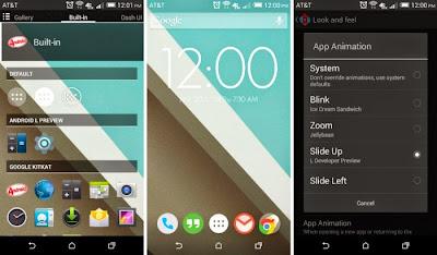 Android L theme - Nova Launcher