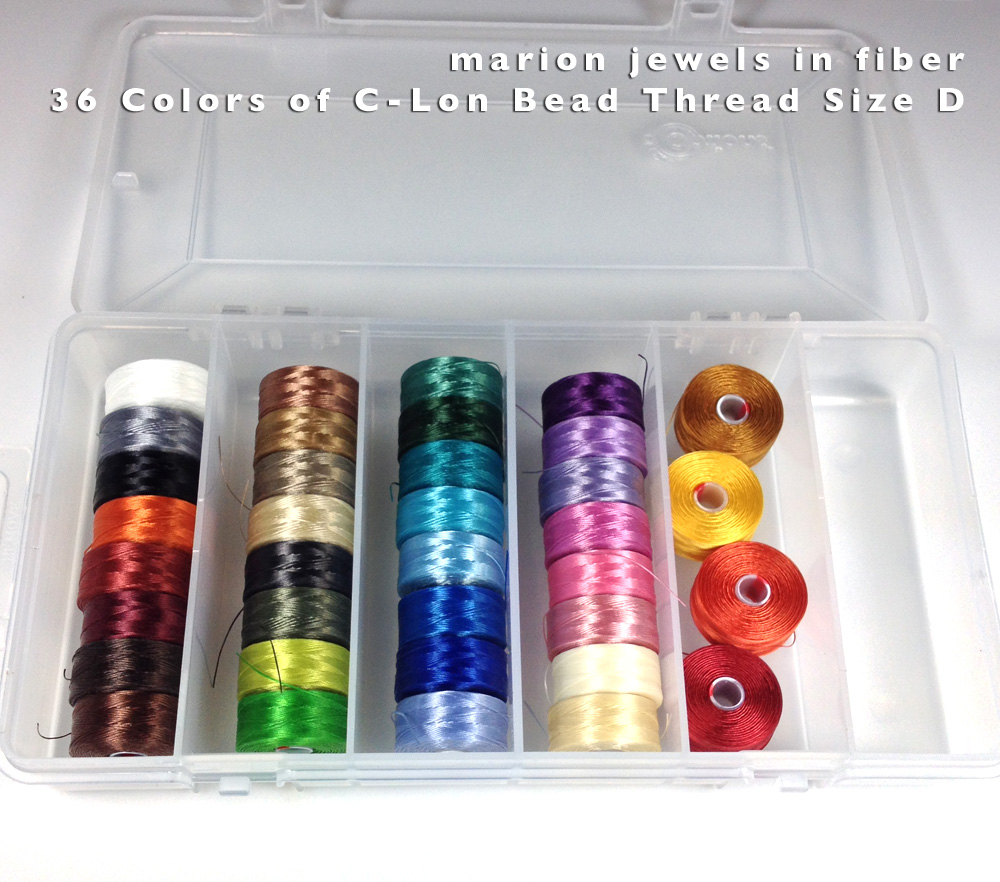 marion jewels in fiber news and such beading thread