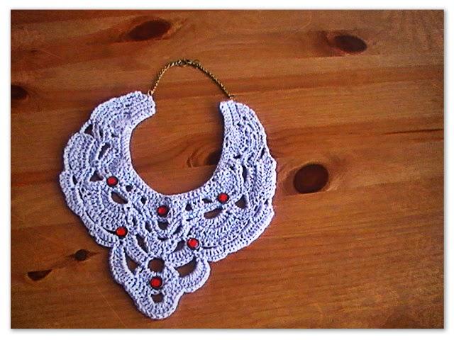 Tejidos a crochet: collar estilo vintage- Margarita Knitting
