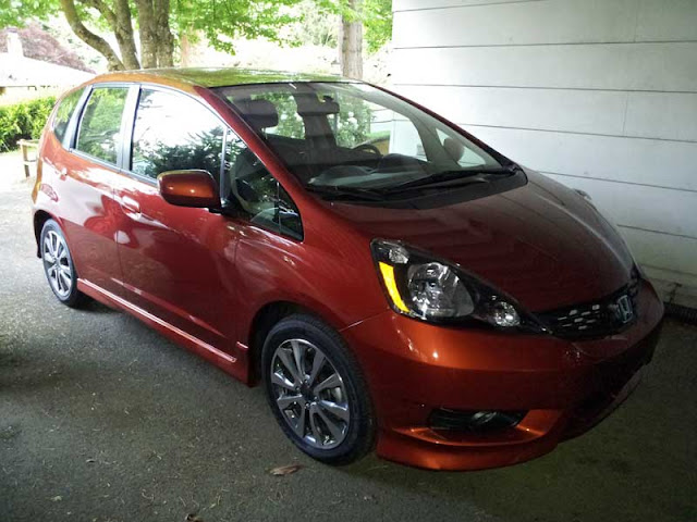 2012 Honda Fit Sport with Navigation - Subcompact Culture