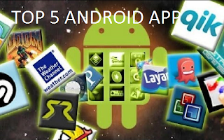 Top 5 Android App Of 2013