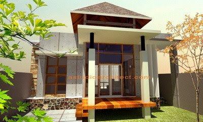 Bentuk Teras Rumah Cantik Menawan  Rumah Minimalis 2014