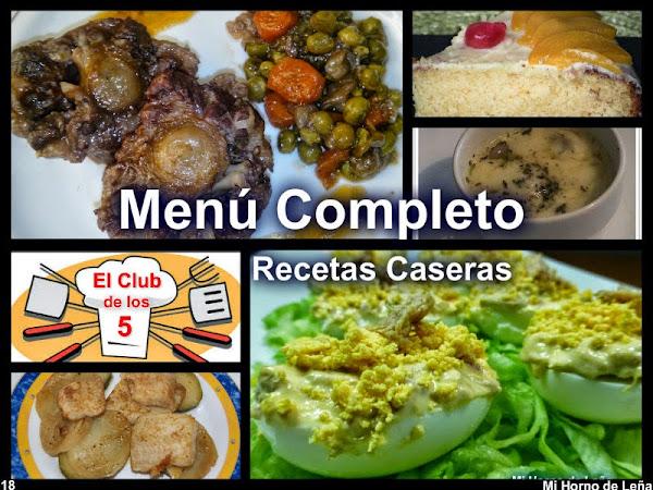 Menu para comida familiar cocinar en casa es for Menu para comida familiar
