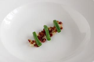 zöldbab zöld bab vajbab húsos füstölt szalonna sertés pörc körte