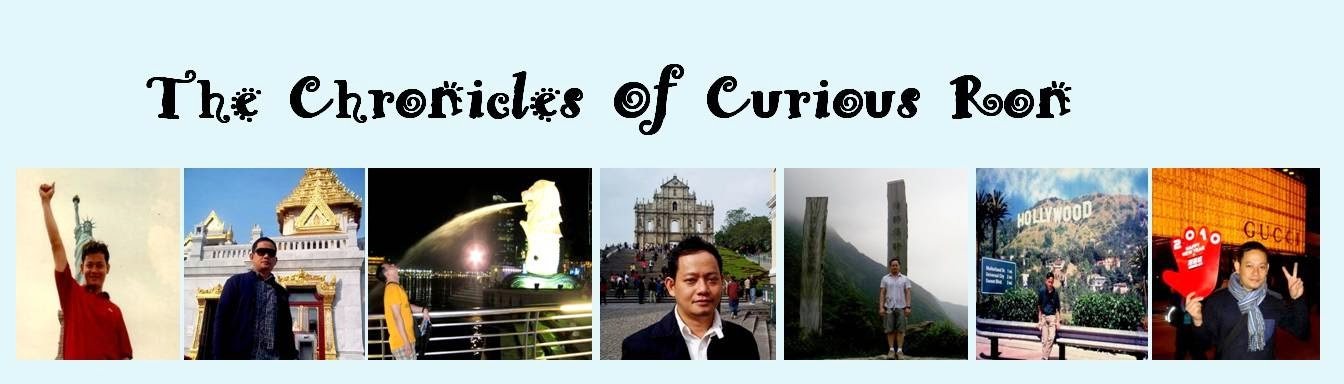 CHRONICLES OF CURIOUS RON