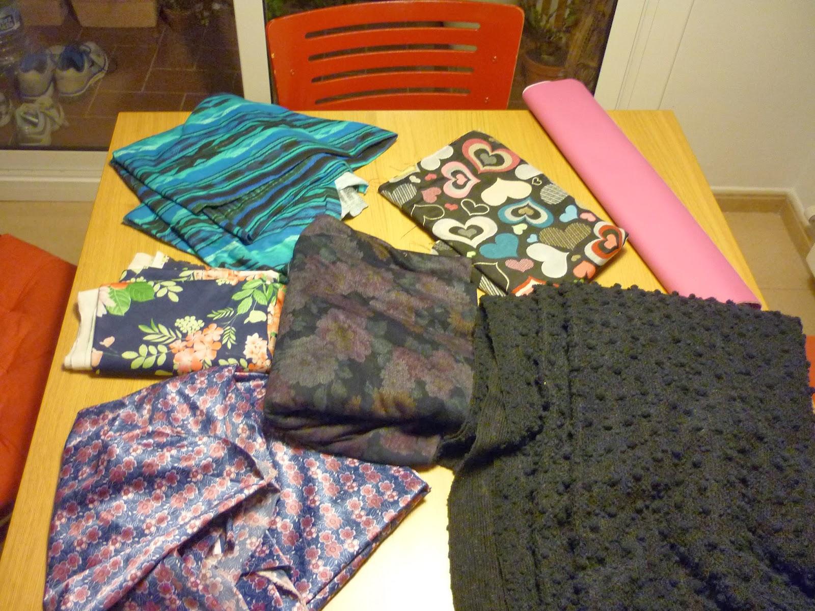 AOT alijo telas stash telas acumulación modistilla de pacotilla
