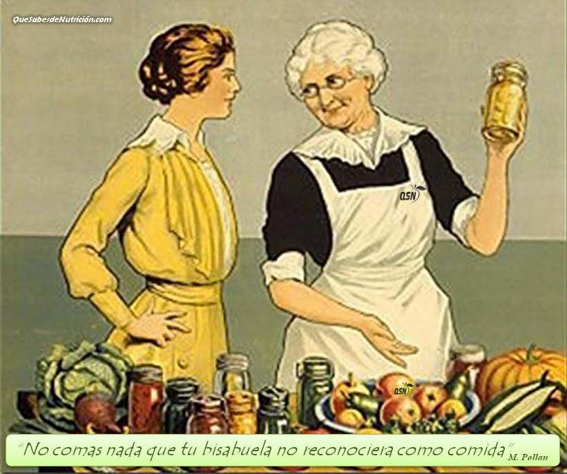 QSN:  Evita los alimentos industriales