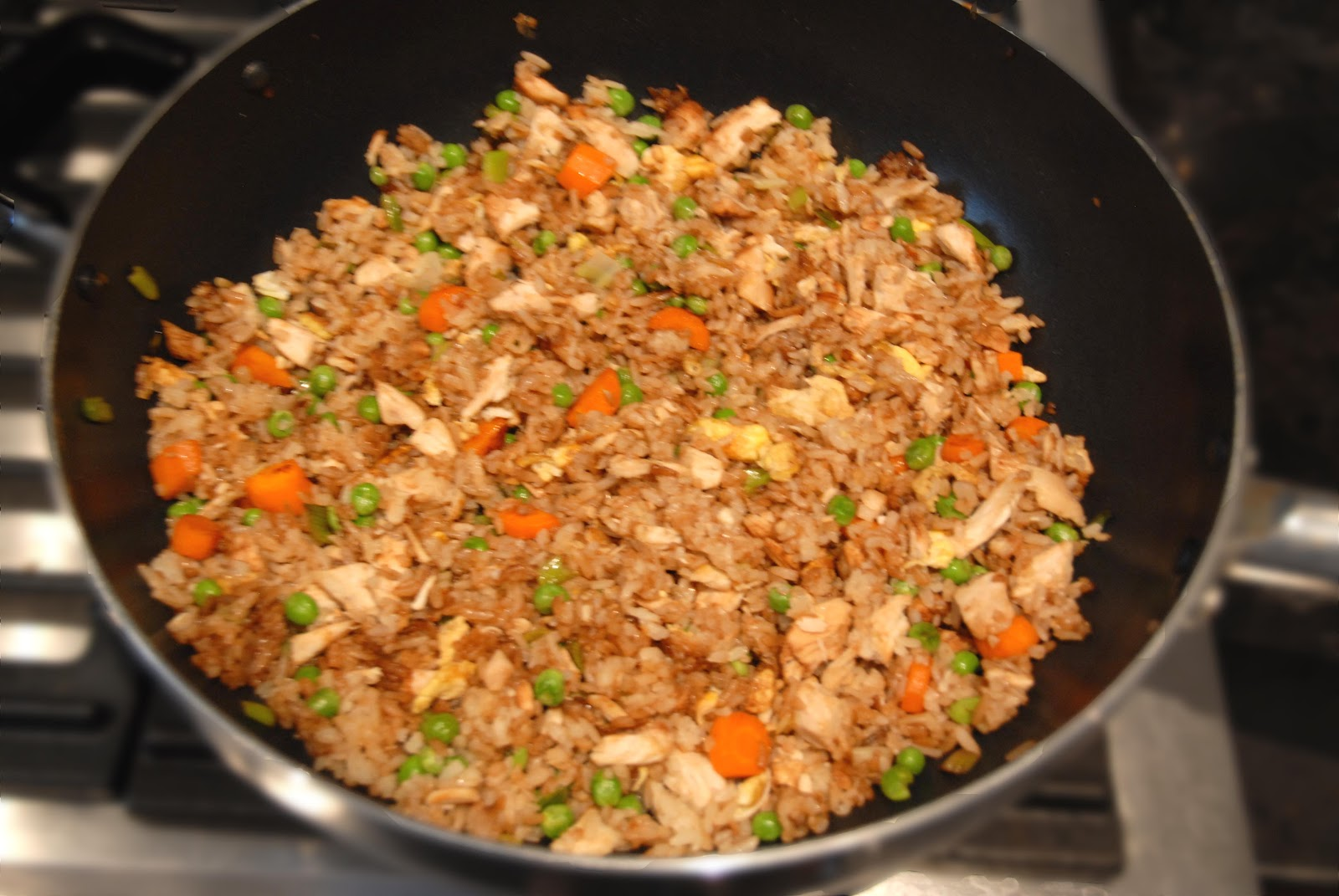 "Repurposed Chicken"" Fried Rice"