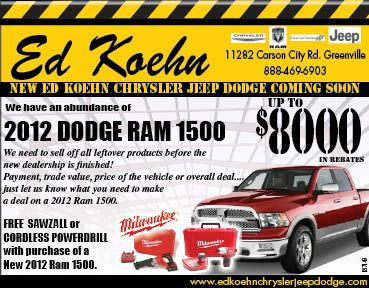 Ed Koehn Used Car And Truck Inventory
