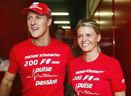 The 45-year-olds of the family to Schumacher's wife Corinna also appealed to the public