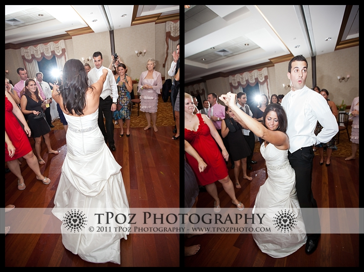 packed dance floor at Turf Valley Wedding Waterford Ballroom