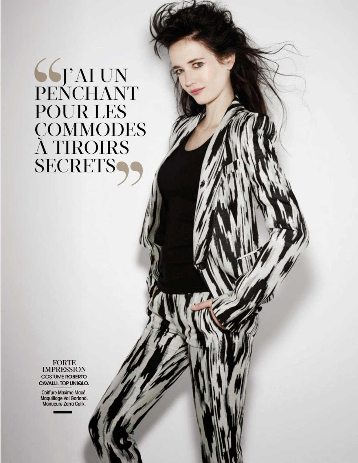 Eva Green HQ Pictures Madame Figaro France Magazine Photoshoot February 2014