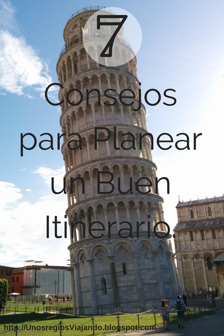 Planea tu itinerario para visitar Europa.
