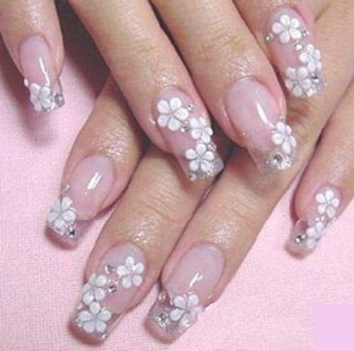 3d Nail Art Designs Acrylic To Bend Light