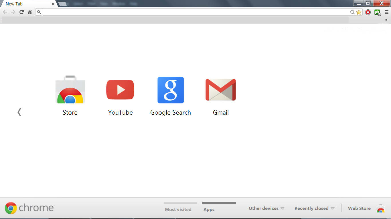BLOG AS STARTPAGE - GOOGLE CHROME ~ ODDA MOTTAK
