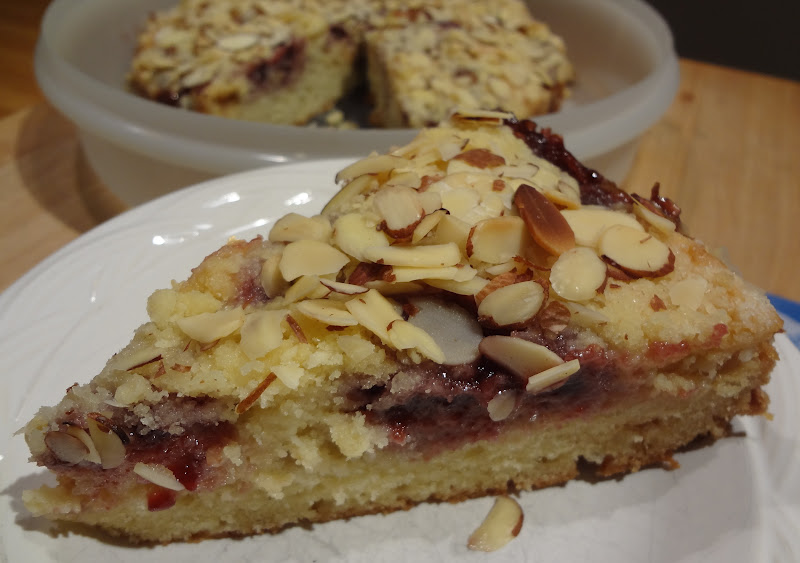Almond Coffee Cake Recipe Using Almond Paste