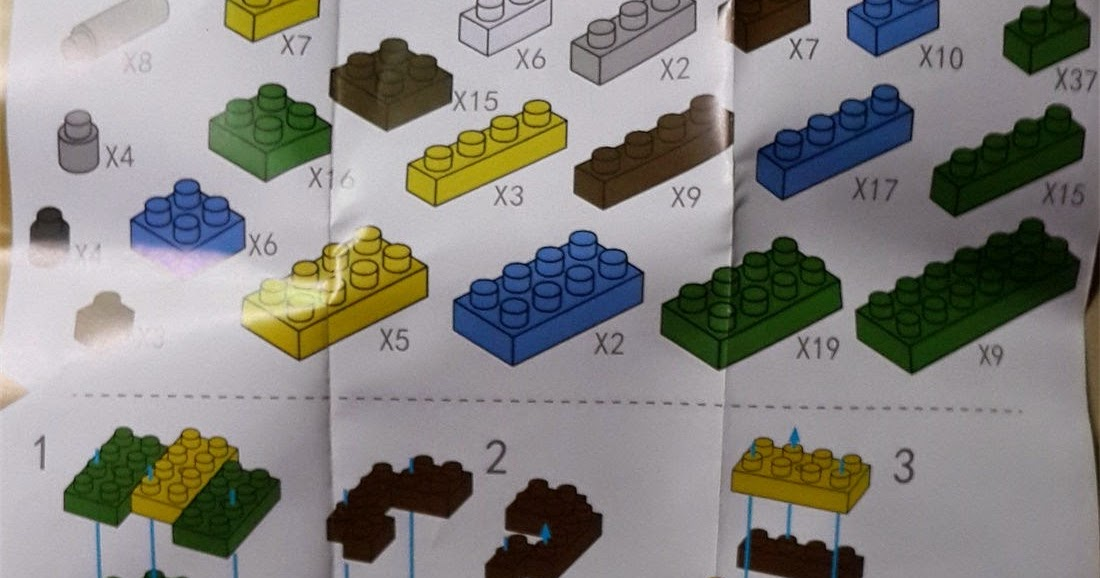 Loz Blocks Instruction Teenage Mutant Ninja Turtles Instruction Diy