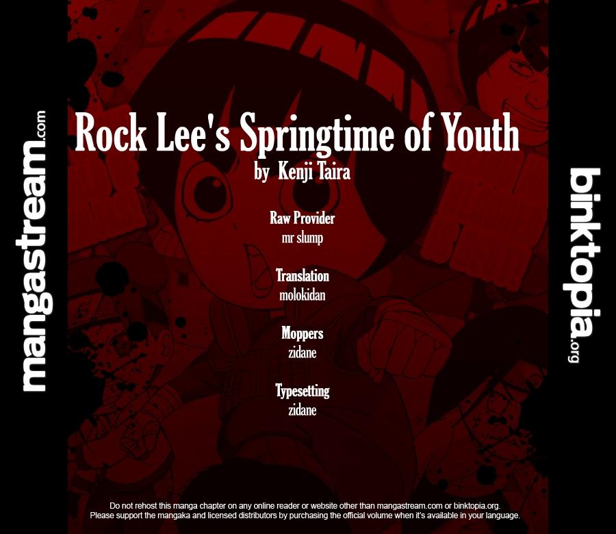 อ่านการ์ตูน Rock Lees Springtime of Youth 2 ภาพที่ 2