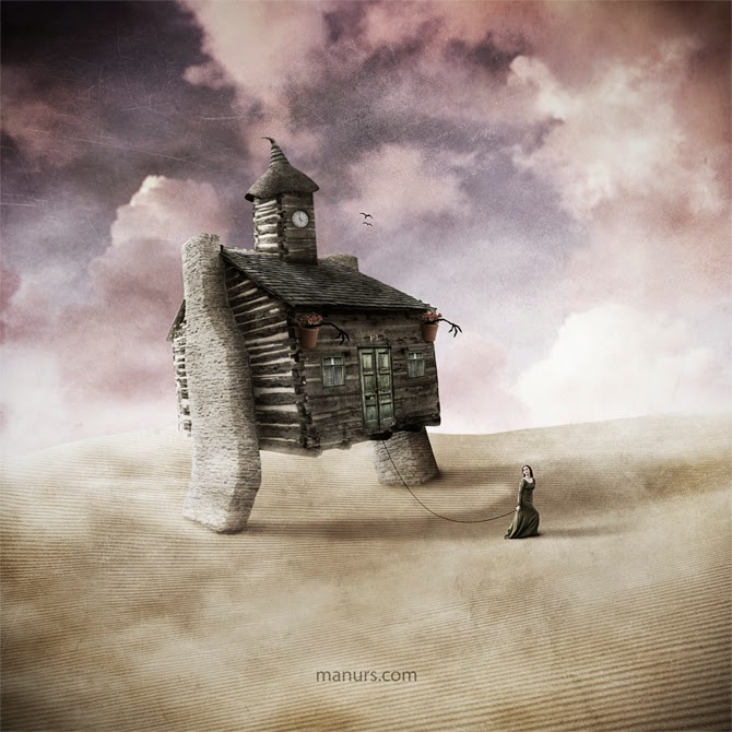 14-The-Move-Manuel-Rodriguez-Sanchez-Surreal-Imaginarium-Land-of-Dreams-www-designstack-co