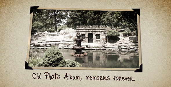 VideoHive Old Photo Album
