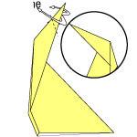 Cara Membuat Origami Jerapah