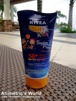 Nivea Sun Kids Swim & Play SPF 50+ Review