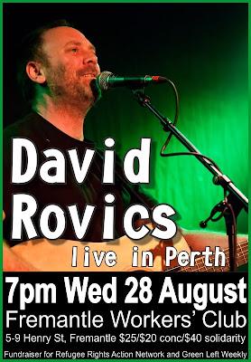 David Rovics - Wed 28 Aug
