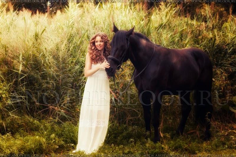 фотосест с конем