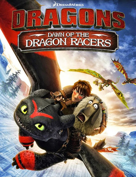 مشاهدة فيلم Dragons: Dawn of the Dragon Racers 2014 مترجم