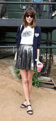 Alexa Chung Street Style Vegan Sandals Summer