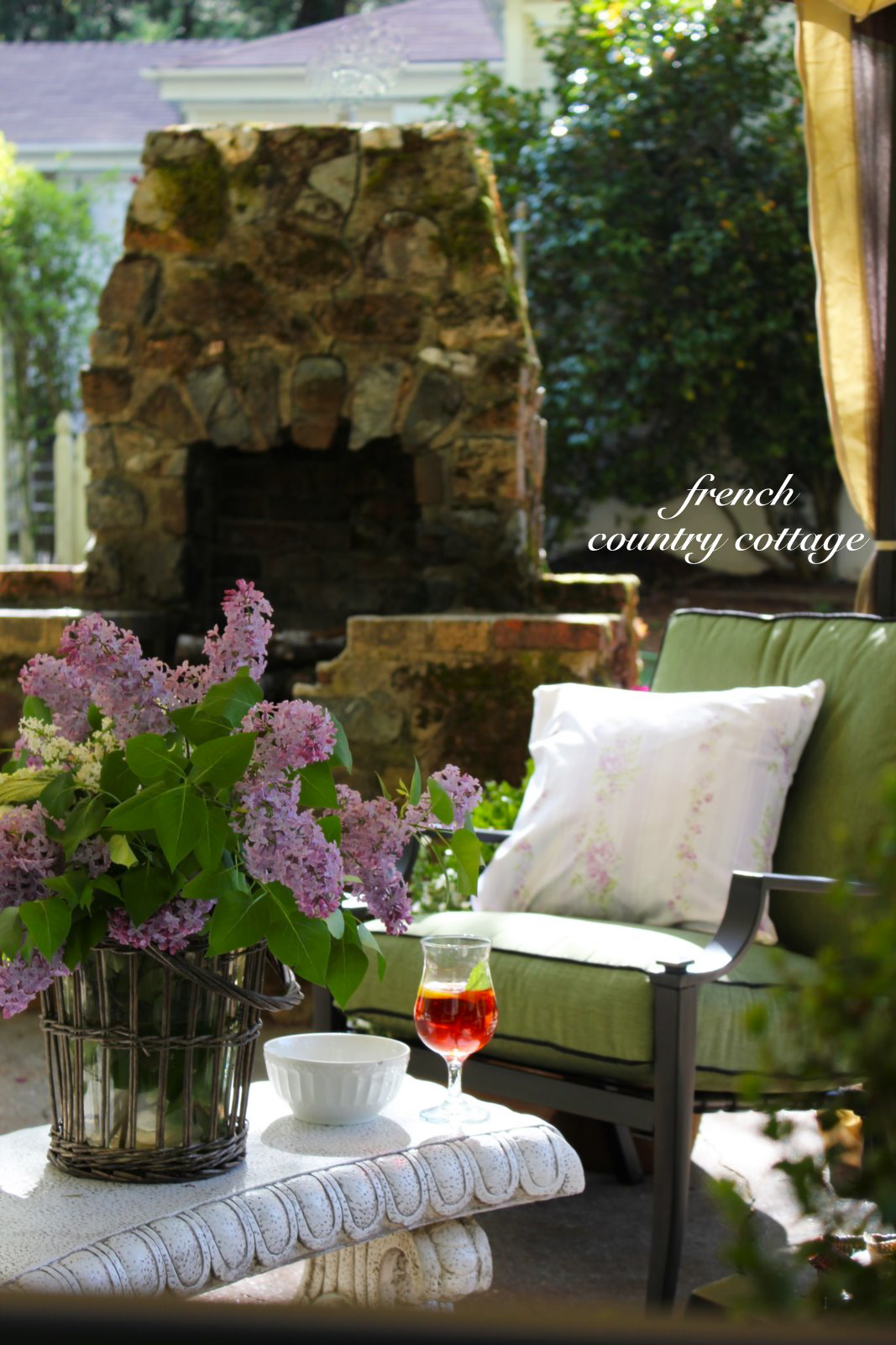 English Garden Inspired Patio Makeover with Kmart - FRENCH COUNTRY ...