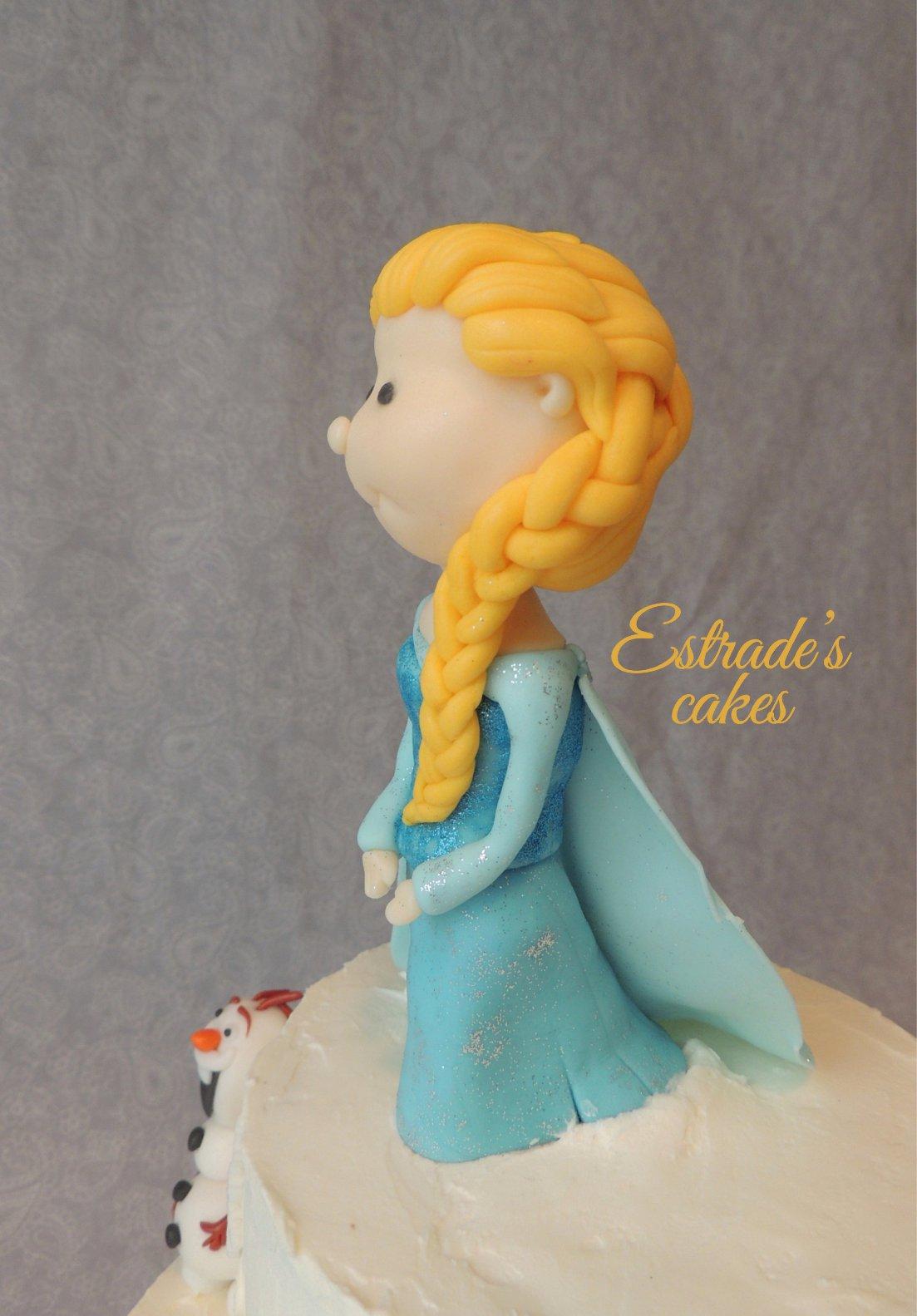 tarta de Frozen - 4
