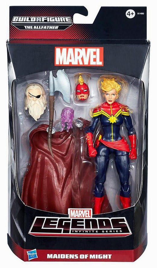 Hasbro - Marvel Legends Avengers Infinite - Captain Marvel figure
