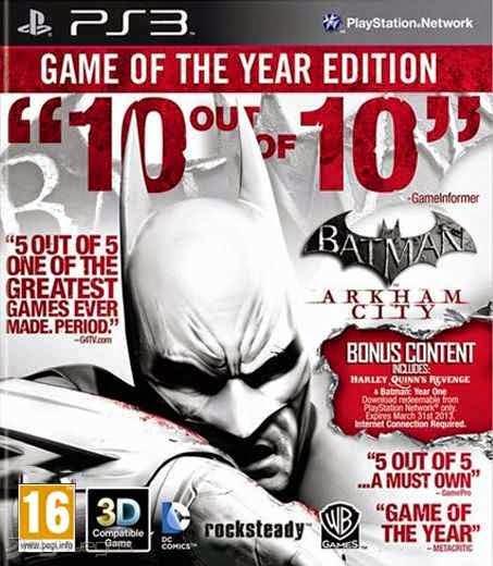 Batman Arkham City: Edición Game of the Year GOTY [PS3] [EUR] [4.xx]