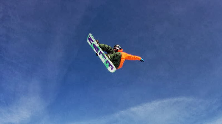 The Second Trauma of Snowboarder in Sochi