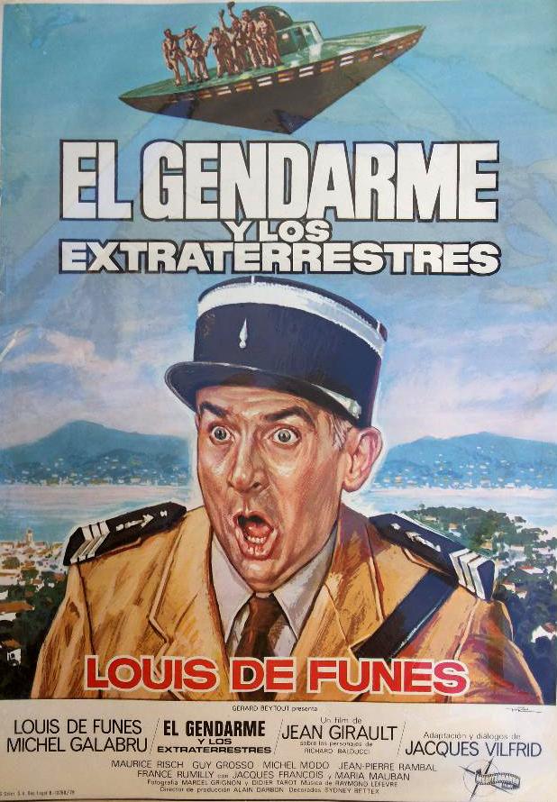 El gendarme y los extraterrestres, Le Gendarme et les Extra-terrestres, Louis de Funès
