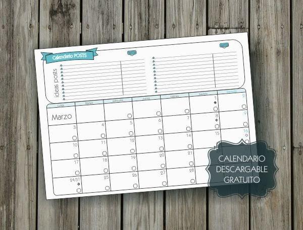 descargar calendario gratis