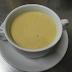 Crema de berenjena asada con curry