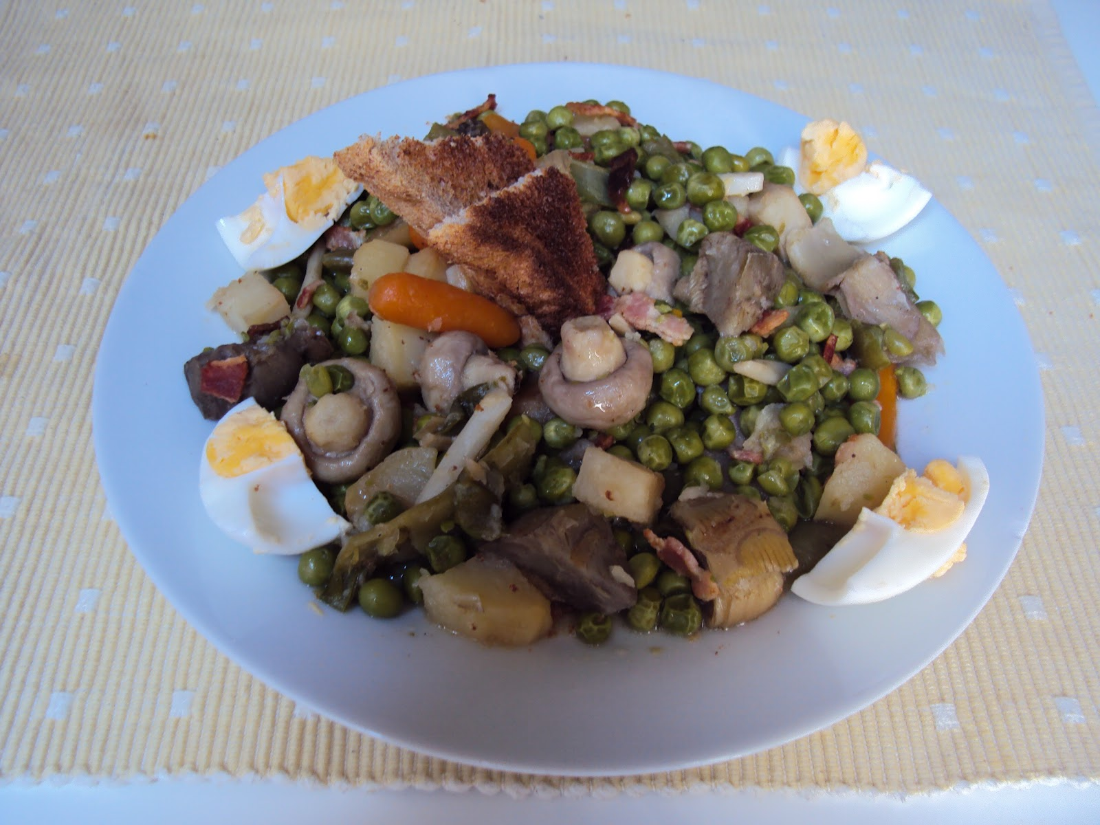 Zaza y sus pucheros como hacer una menestra de verduras - Como preparar menestra de verduras ...